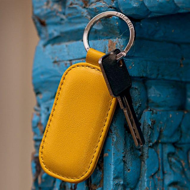Pyöristetty suorakulmion muotoinen avaimenperä
